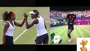 """Serena and Venus Williams going for the Gold at Olympics 2012"""