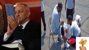 "Rev. Jeremiah Wright and Rev. Corey ""Rooftop"" Pastor Brooks"