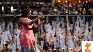 """First Lady Michelle Obama at DNC Convention"""