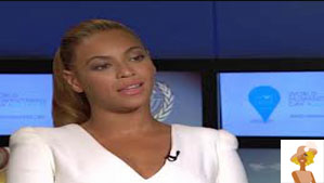 """Beyonce on Anderson Cooper Show"""