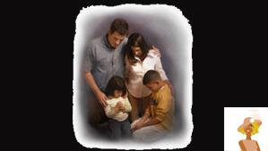 """""""Family Praying"""""""
