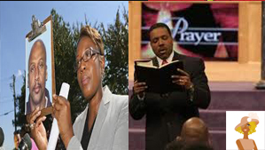 """Floyd Palmer mega church shooter and Creflo Dollar at church"""