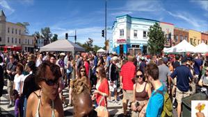 """H Street Festival in DC"""