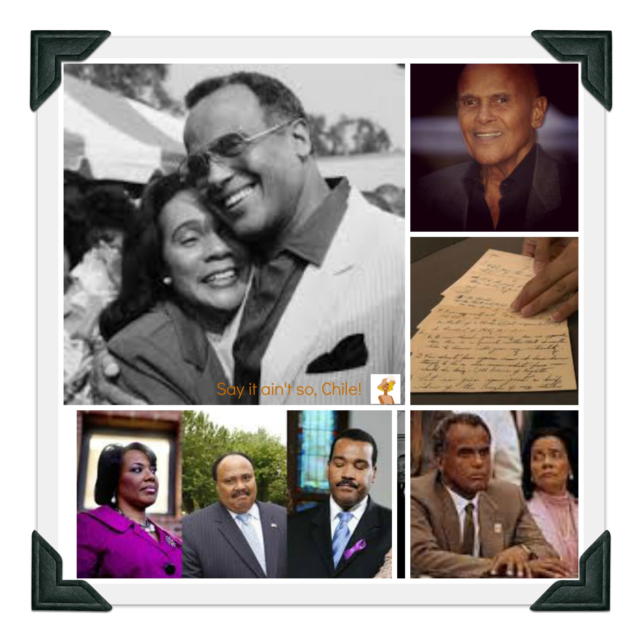 Martin Luther King Jr Family being sued by Harry Belafonte