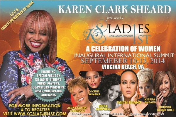 Karen Clark Sheard-women of celebraion