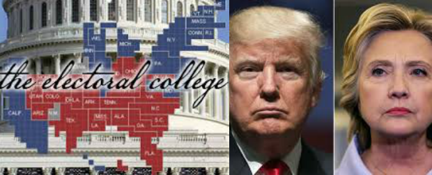 electorial college-trump-clinton