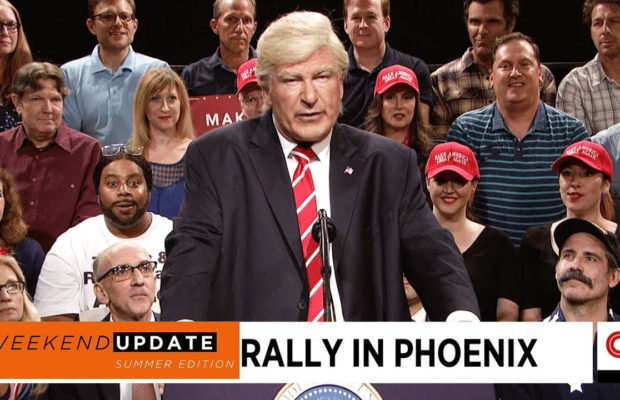 Kenan Thompson As 'Blacks For Trump' Guy On SNL's 'Weekend Update: Summer Edition'