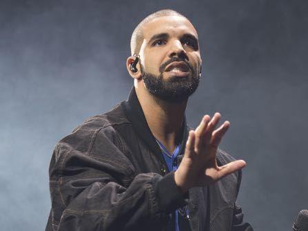 Drake Has A Life Size Portrait Of Beyoncé In His Studio