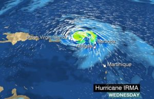 Hurricane Irma: Caribbean islands brace for powerful storm