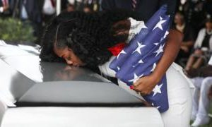 Myeshia Johnson: Widow of dead soldier hits out at Trump