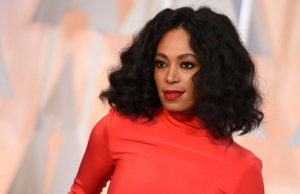 Solange Knowles Debuts Blonde Hair & New Ink AT NYC Event