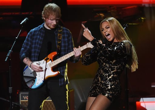 Beyoncé Featured On Ed Sheeran's Remix Of 'Perfect'