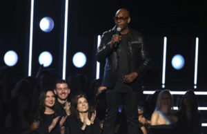 At Grammys, Dave Chappelle Leads A Comic Interlude