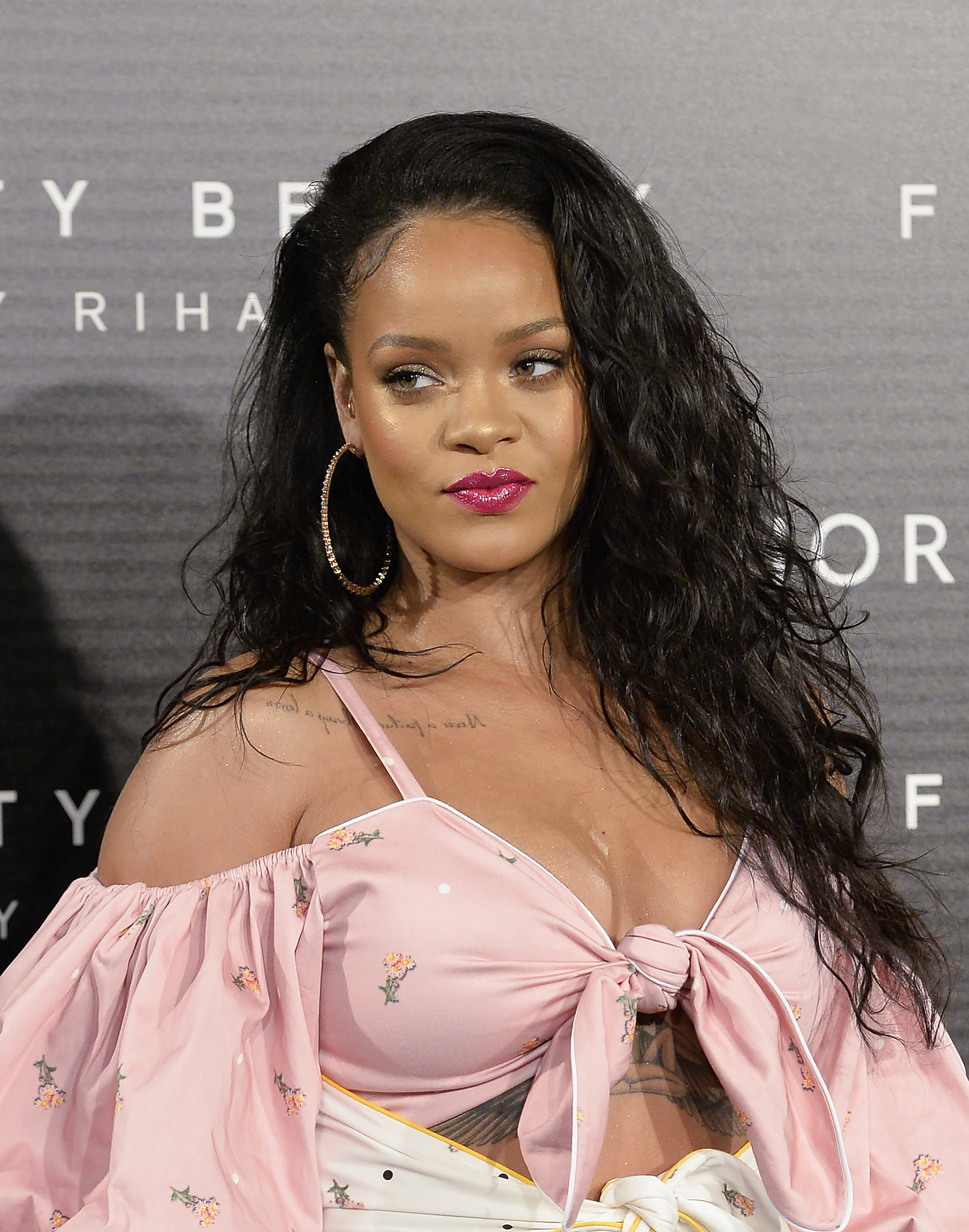 Rihanna Fenty Beauty Presentation in Madrid