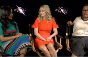 Oprah, Reese Witherspoon, Mindy Kaling Talk 'Wrinkle,' Loving Your Hair & Negative Energy