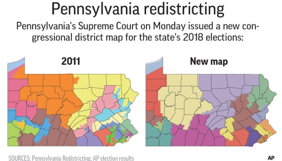 Pennsylvania Congressional Map Battle Lands In Supreme Court