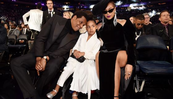 Blue Ivy Bids On 19K Painting But Jay Z's Not Having It