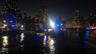 Helicopter crash in New York City's East River kills two