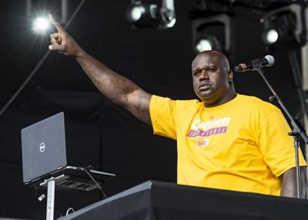 Shaquille O'Neal Will Host An EDM Festival