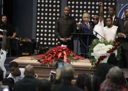 Stephon Clark Is Buried In Sacramento; Protests Continue
