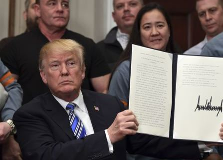 Trump Moves Forward With Tariffs Despite Risk Of Trade War