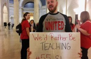 West Virginia Teacher Strike Heads Into Seventh Day