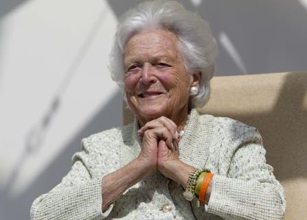 Former First Lady Barbara Bush In Failing Health